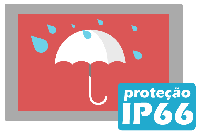 PROI-0503 IP Bullet: 2 4MP, 1080P, IP66 - Proimage Brasil